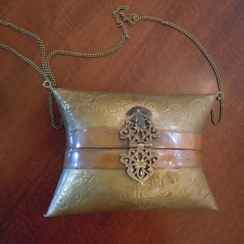 Brass and copper Purse. Help?!? - Bags