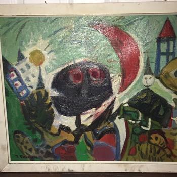 Expressionism art by J.Deveau  - Fine Art