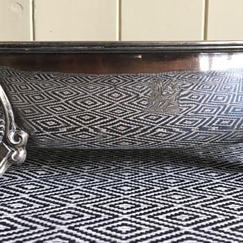 Mappin and Webb company tray ? Victorian  - Silver