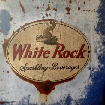 White Rock Vintage Soda Machine/Fridge - Advertising