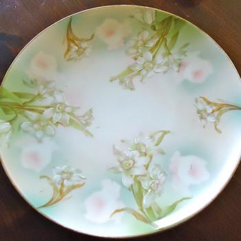Antique Moritz Zdekauer (MZ Austria) Plate - China and Dinnerware