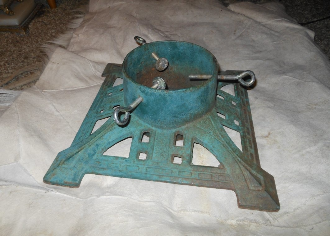 Vintage Cast Iron Christmas Tree Stand Collectors Weekly
