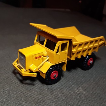 Macho Motor Museum Matchbox Monday King Size K-5 Foden Dumper Truck 1961-1966 - Model Cars