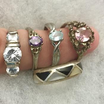 Silver rings - Fine Jewelry