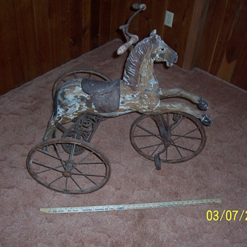 horse tricycle - Toys