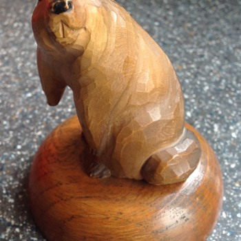 Wooden beaver - Animals