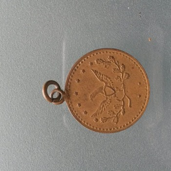 coin made into jewlery