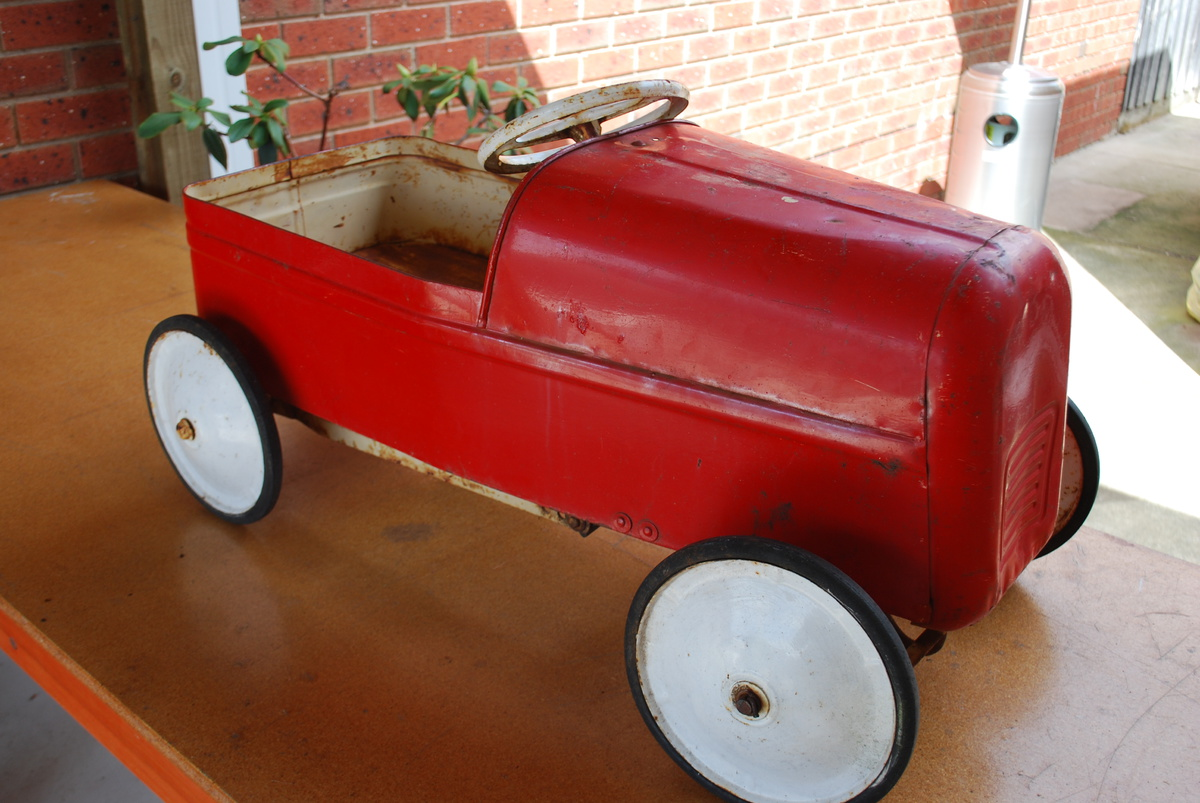 Restore Old Pedal Cars