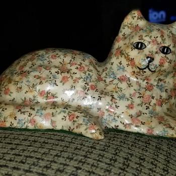 Flowered kitty - Animals
