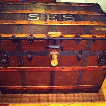 My New Taylor Tack Trunk - Furniture