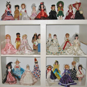 "My Blue Bonnet Margarine ""American Heritage Dolls"" dolls - Dolls"