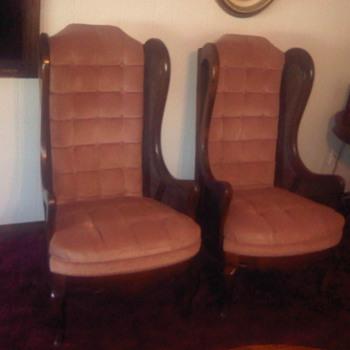 queen ann chairs - Furniture