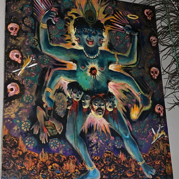 Kali Ma Painting - Fine Art