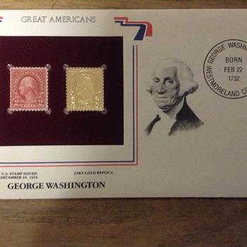 22kt replica stamp