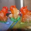 Multi color elephant set