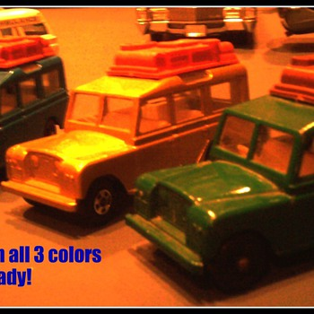 Land Rovers by Matchbox were offered in 3 colors...   - Model Cars