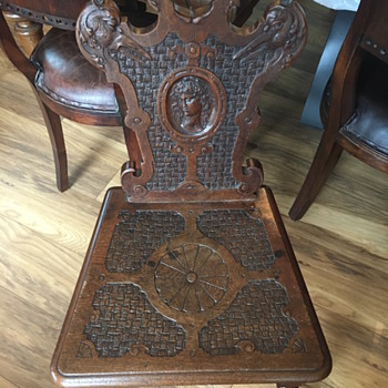 Chair number 2-any history would be wonderful  - Furniture