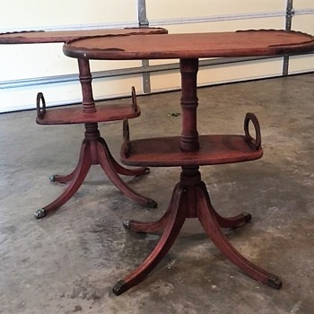 Has anyone seen this style of table before?