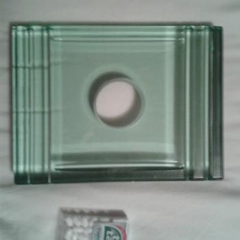Glass Sengbusch Emeralite Inkwell Thing