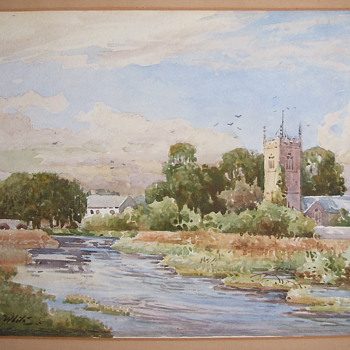 Watercolor Painting 2, Unknown Artist? - Fine Art