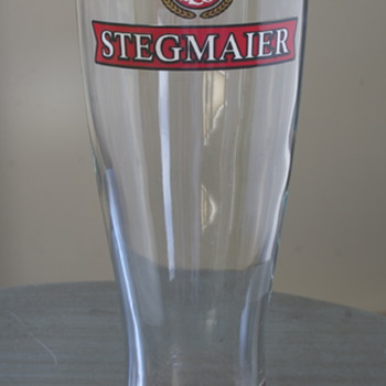 Stegmaier Beer Glass...
