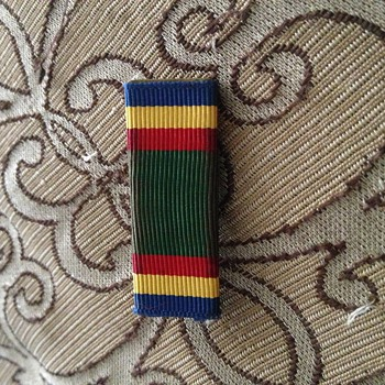 Vintage WW1 or WW2 Era Military Ribbon Please Help ID  - Military and Wartime