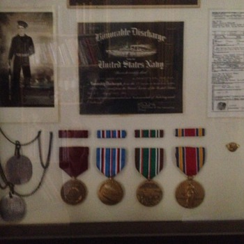My Dad and his service to our country - Military and Wartime