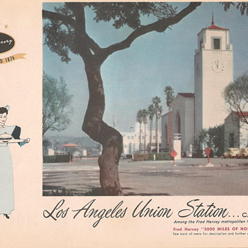 Harvey House Menus 1957 (part #2) - Paper