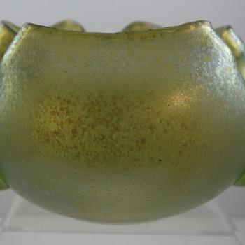 Loetz Cisele mit Tropfen, Prod Nr. II-2055, ca 1905 for Pauly & Cie, Venice - Art Glass