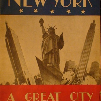New York City Souvenir Book 1947