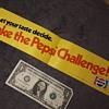 original TAKE THE PEPSI CHALLENGE bumpersticker