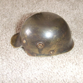 WW1 Trench art M-17 Helmet