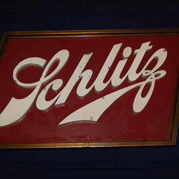 Schlitz Brewhouse Sign - Breweriana