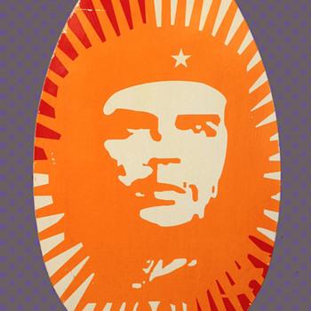 Original 1960s MOD Che Guevara Icon Pop Art / Wall Art from London  - Politics