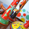 My collection of vintage noisemakers!