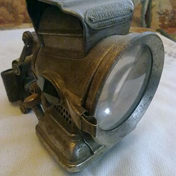 Lucas bicycle lamp. - Lamps