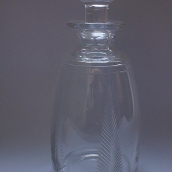 Staurt Crystal Decanters 1930s - Bottles