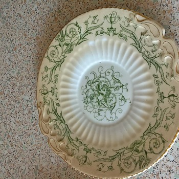 old griffin plate - China and Dinnerware