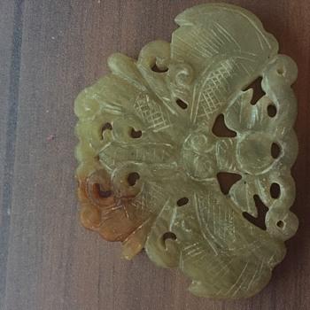 Unknown glass or Jadeite pendant - Fine Jewelry