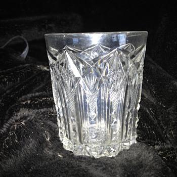 Brillant cut shot glass