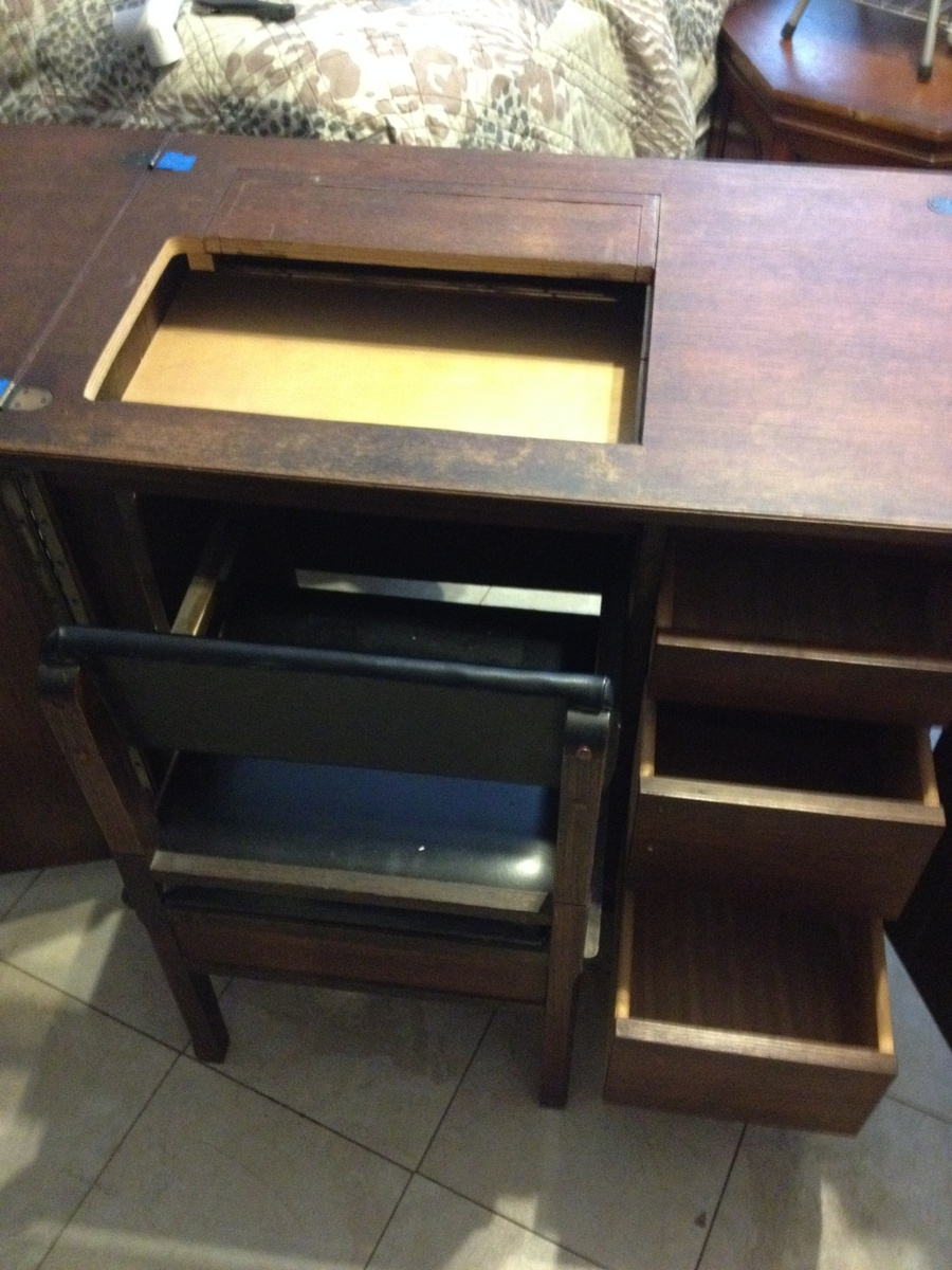 New to Me Not So Old Sewing Cabinet | Collectors Weekly