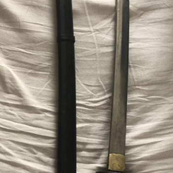 Japanese sword from Iwo Jima  - Asian