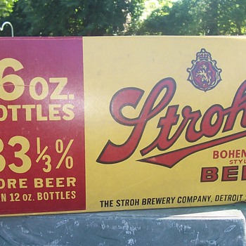 Stroh's case! - Breweriana
