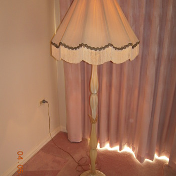Murano Glass standing lamp