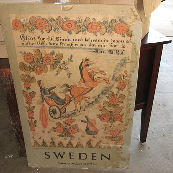 Antique SWEDEN Picture - Posters and Prints