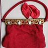 Beaded Cameo Handbag (Made in France)