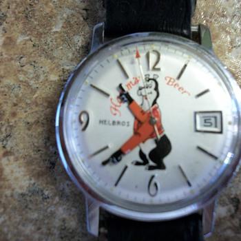 Hamm's Beer Wristwatch - Breweriana