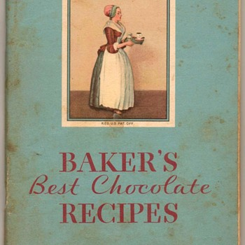 1932 - Baker's Chocolate Recipe Book - Books