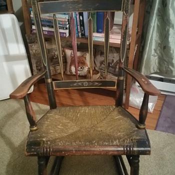Yard sale find...Windsor?  - Furniture