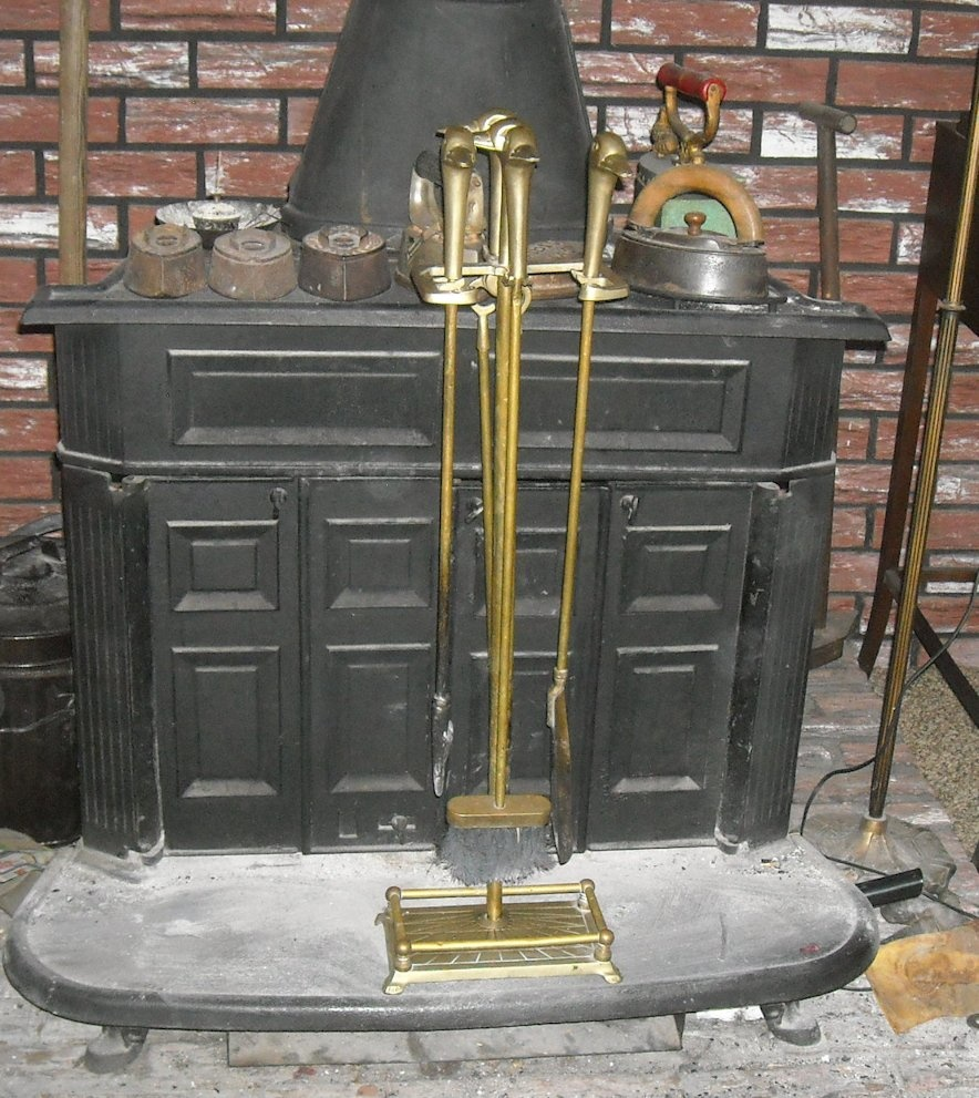 duck head fireplace tool set solid brass collectors weekly